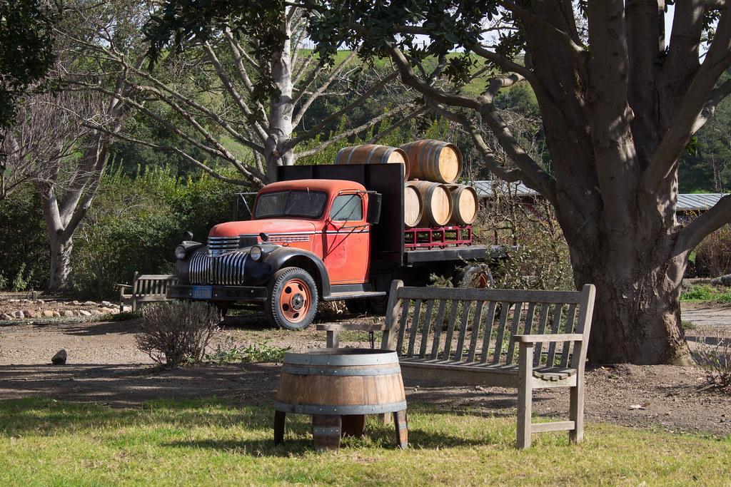 viinitila, Solvang, Kalifornia, USA