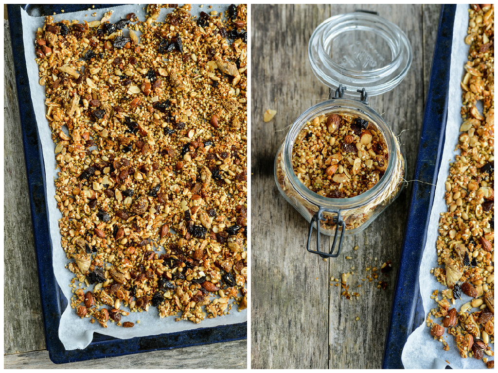 muesli/granola (with buckwheat)