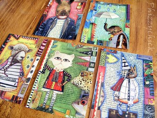 Altered Animal Postcards