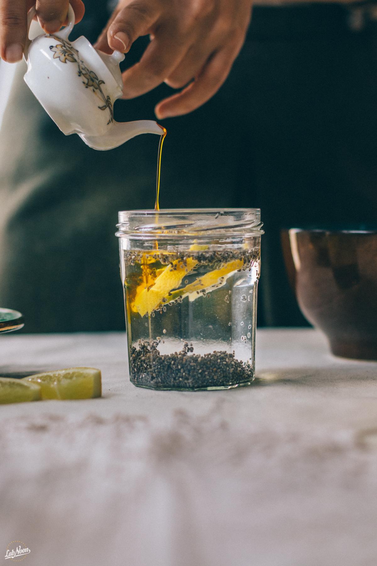 Persian Chia Seeds Drink for Nowruz | Bevanda di Semi di Chia alla Persiana per Nowruz | Lab Noon #PFBNowruz-18