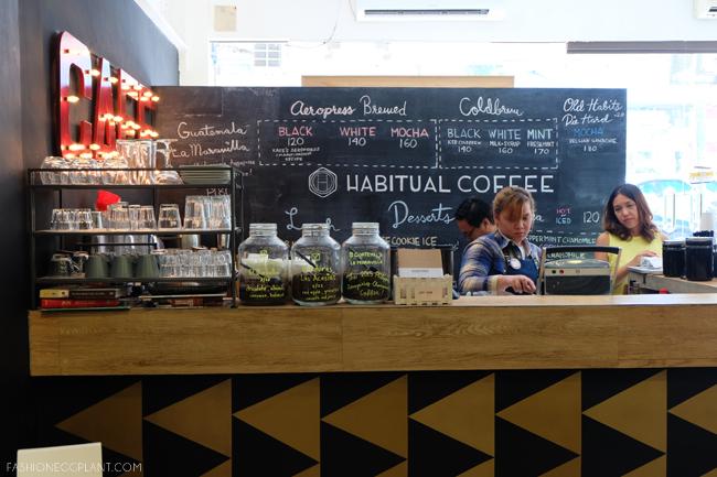habitual coffee