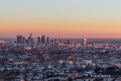 My City At Sunset