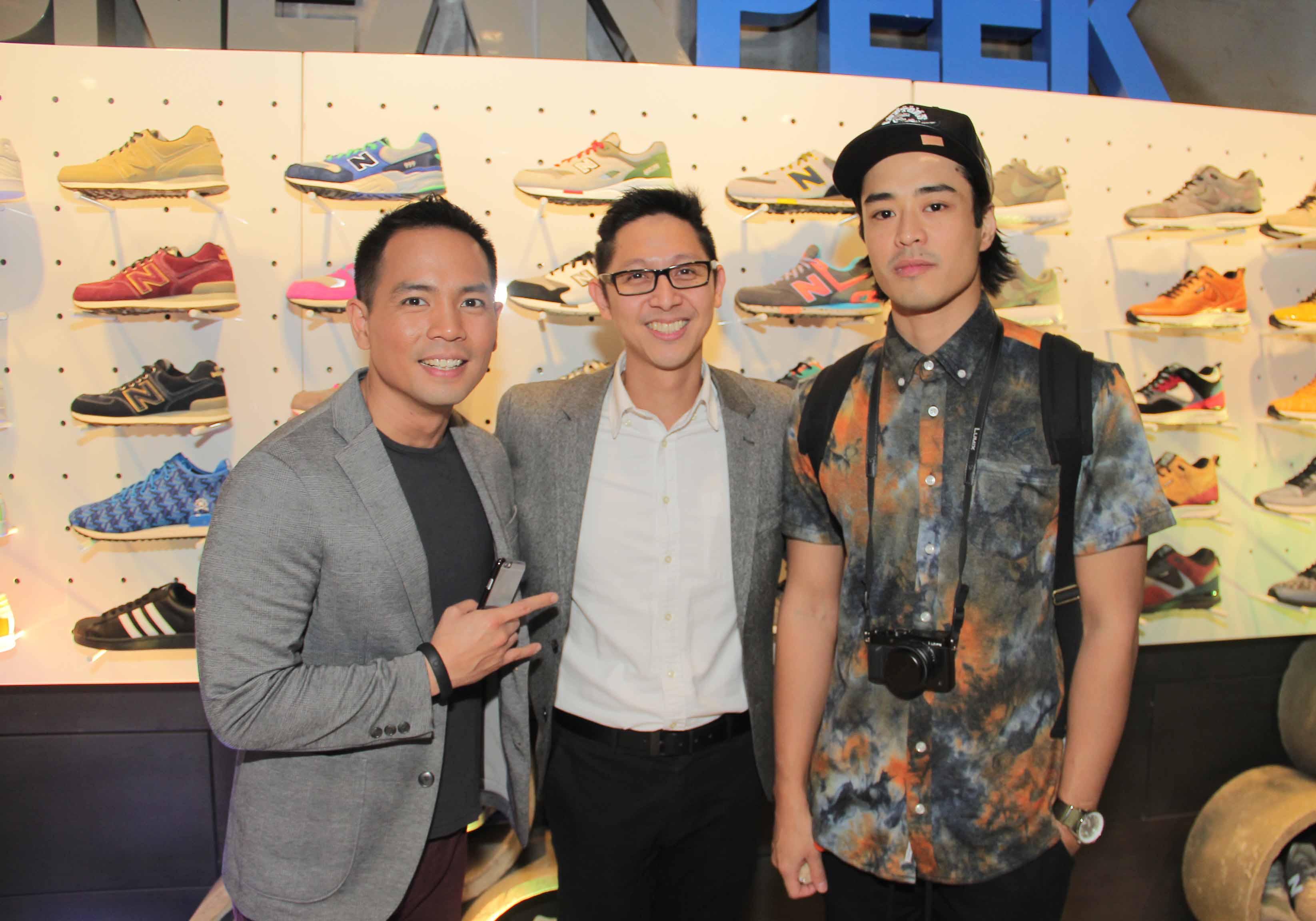 Host Jinno Rufino, PGII's AVP & SBU Head Toti Wong, Brent Javier