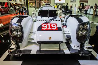 Porsche 919 Hybrid F1 @ Motor Show 2015