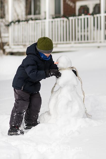snowman - finally!