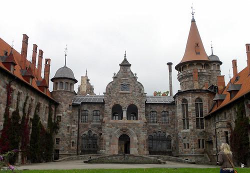 castle architecture latvia neorenaissance eclecticism cesvaine cesvainespils cesvainepalace