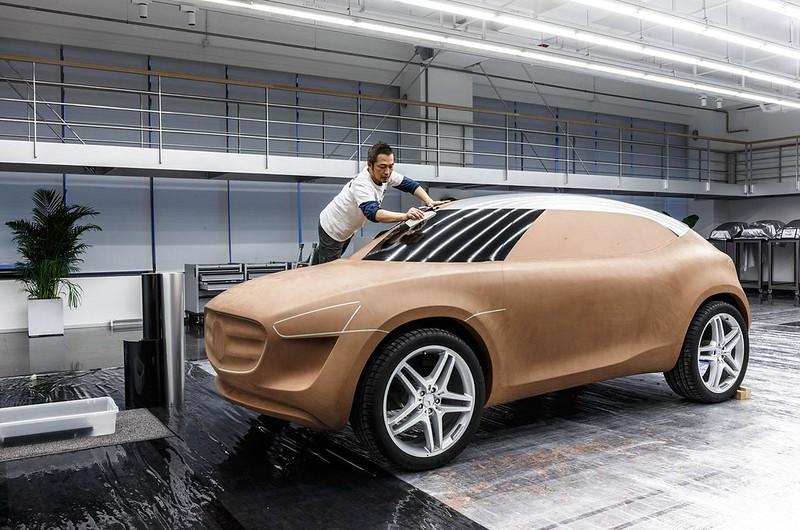 Создание прототипа Mercedes-Benz G-Code