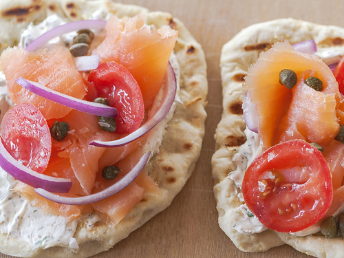 Jackie Alpers Food Photography: Bagel Pizza