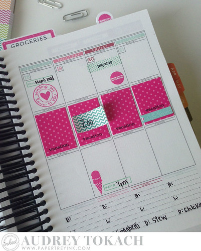PTI Moments Inked Memory Planner