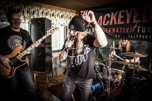 Blackeyed Blondes, Rehearsal at North Karelia