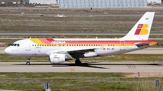Iberia Airbus A319-111 EC-JEI Profile