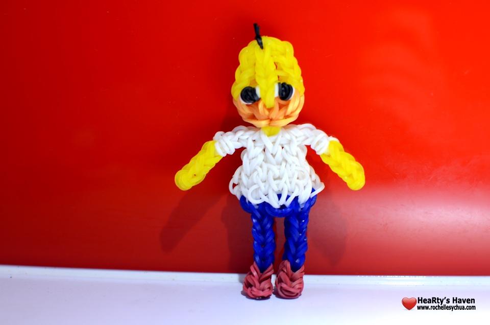Homer Simpson Loom Charm