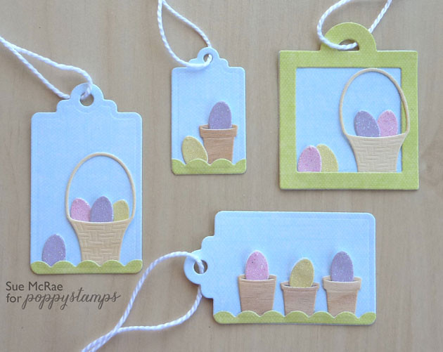 Easter Tags Closeup
