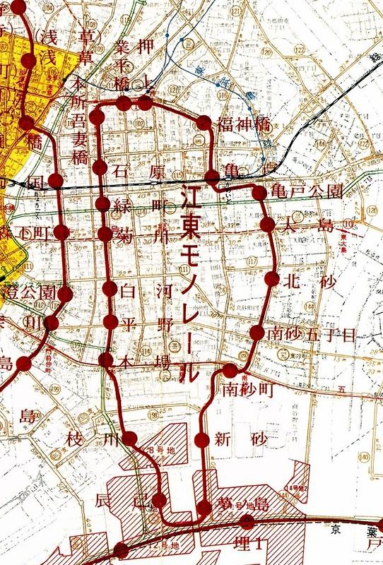 都営モノレール計画(江東モノレール)