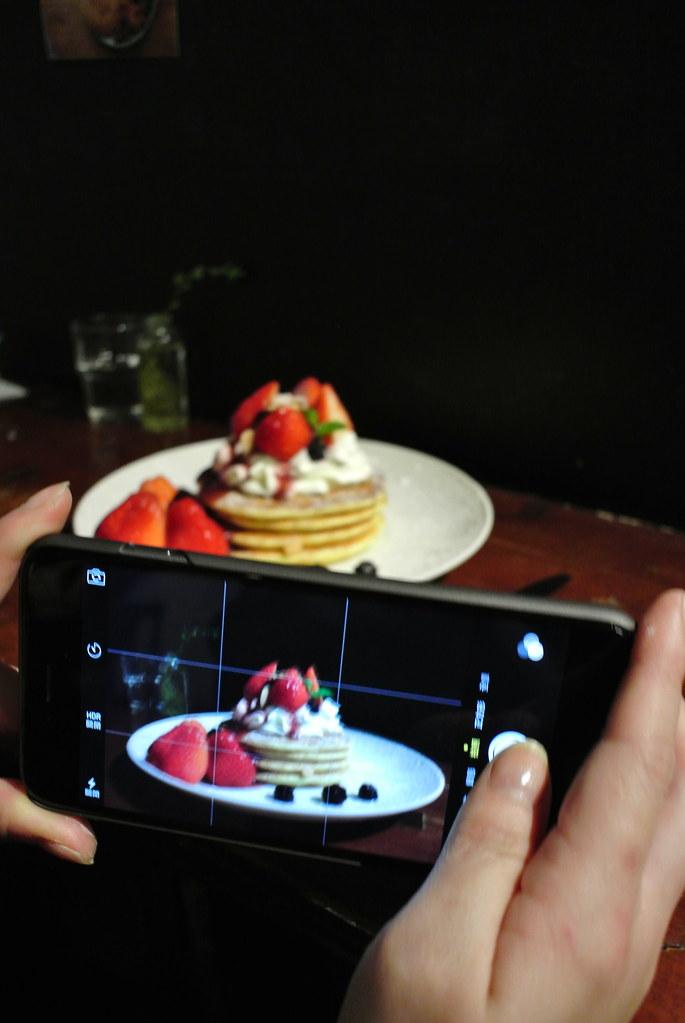 草莓鬆餅 田樂