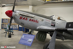 44-63272 C - 122-30997 - Bad Angel - USAF - North American P-51D Mustang - Pima Air and Space Museum, Tucson, Arizona - 141226 - Steven Gray - IMG_8907
