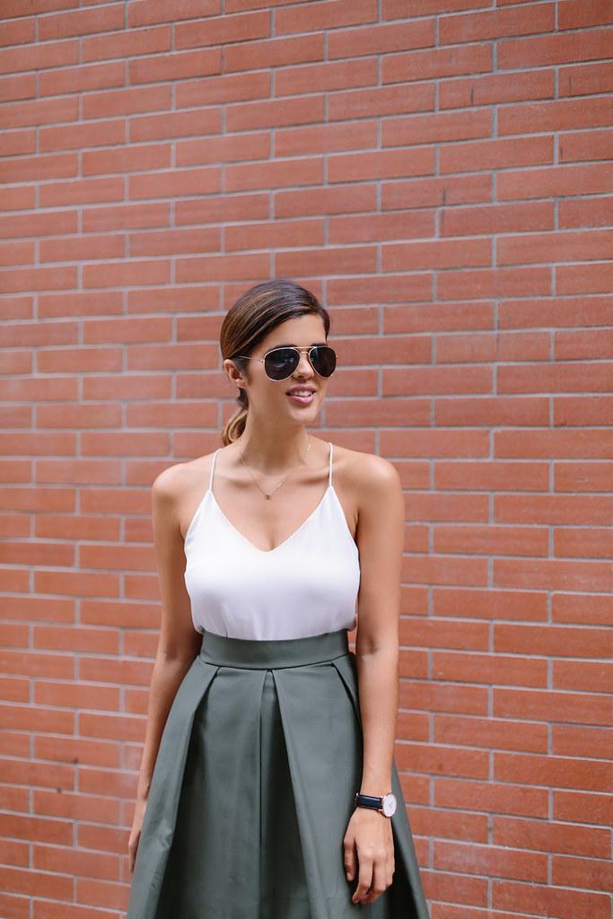 DIY Midi Skirt