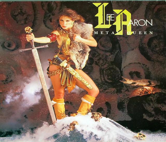 """LEE AARON METAL QUEEN Virgin 12"""" LP VINYL"""