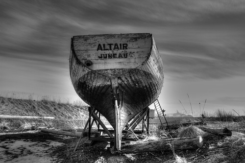Another View of the Altair in BW
