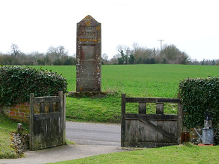 Elmsett Tithe Memorial (from Elmsett church)