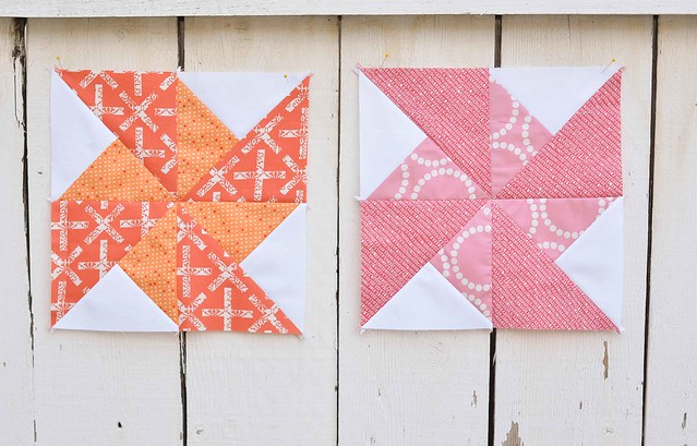 double pinwheel blocks