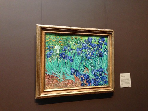 Iris Van Gogh Getty Museum Los Angeles