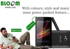 Bloom Mobiles Smart Phone Series