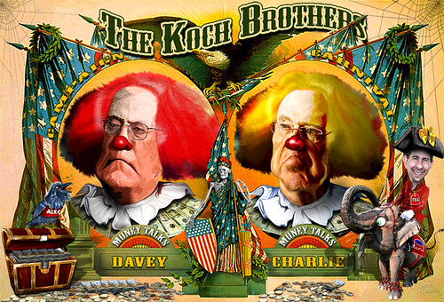 Koch Brothers Campaign Circus Hires A New Pitchman – Scott Walker
