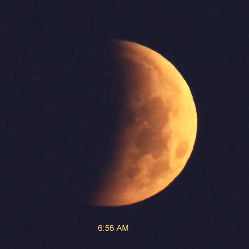Lunar Eclipse 0656 AM EDT -20150404