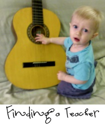 Finding a teacher
