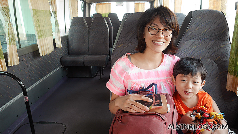 When Vietjet Air says the bus is private, it really is!