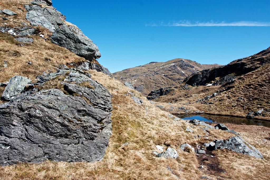 An Caisteal from the Beinn Chabhair bealach