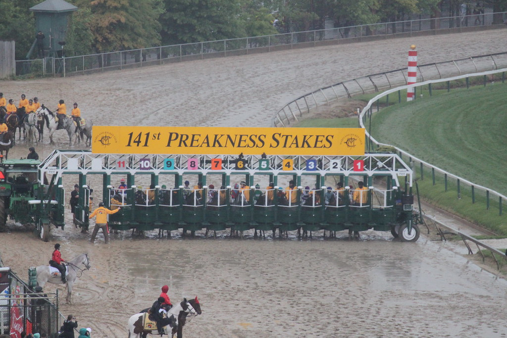 Preakness 2016 positions