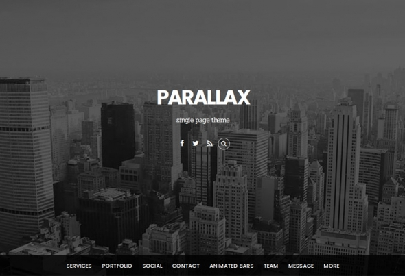 Themify Parallax v2.0.9 – WordPress Theme