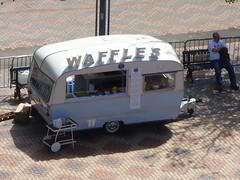 International Dance Festival Birmingham 2016 - Centenary Square - caravan - Waffles