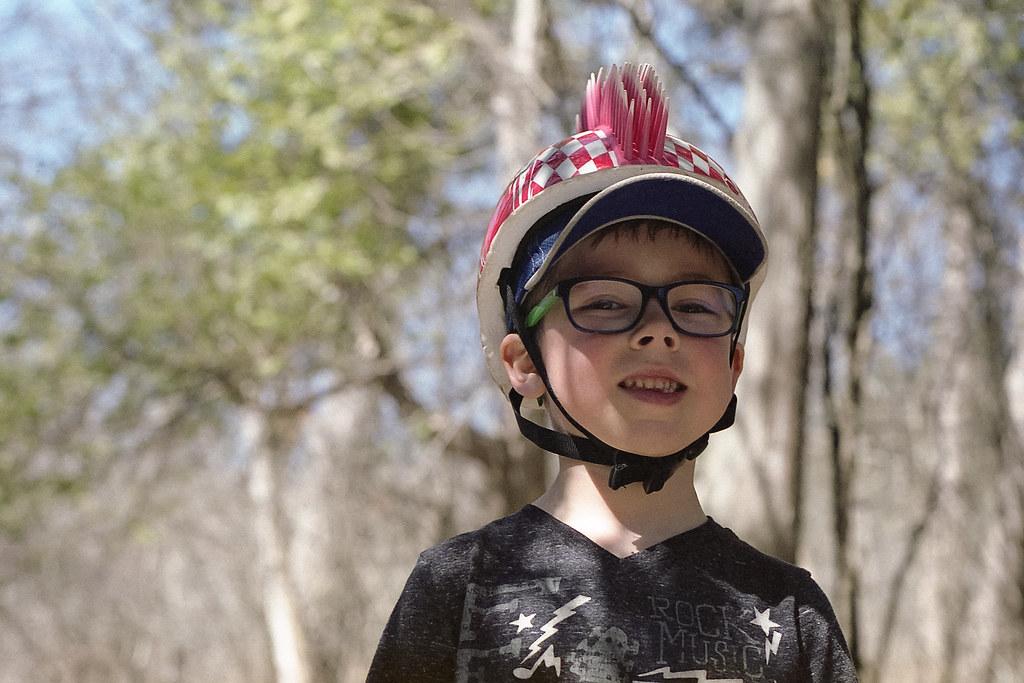 Spiked Bike Helmet