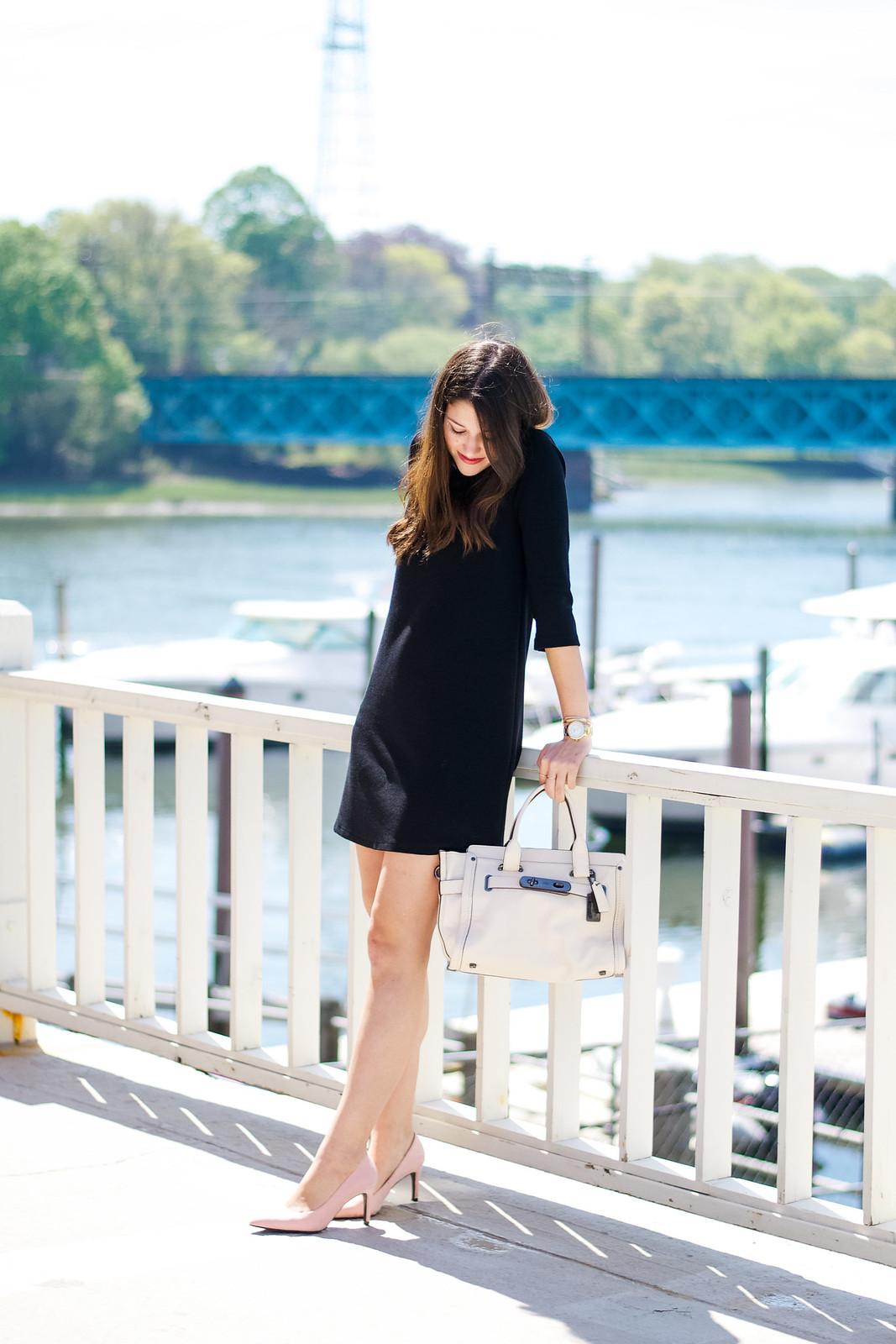 Little Black Dress Blogger Outfit