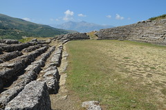 The Stadium built in the 3rd century BC, Amantia, Albania