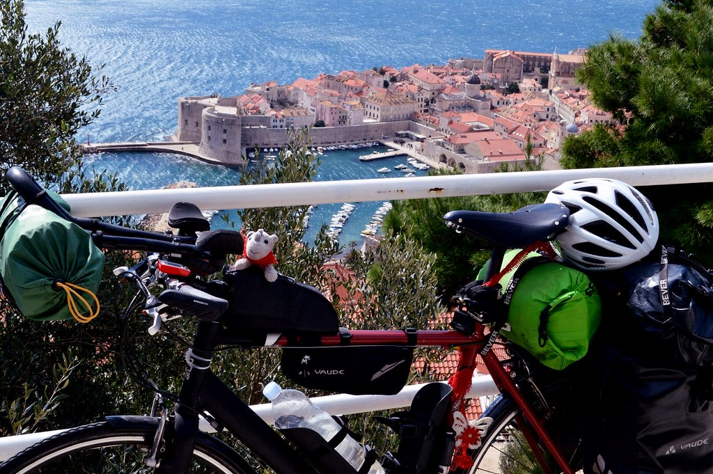 Bike at old city Dubrovnik