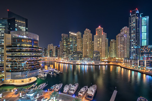 world city travel bridge vacation sky holiday tourism night scrapers marina reflections lens landscape boats photography lights boat persian high amazing nikon europe neon dubai cityscape photographer gulf nightscape angle harbour walk pano united famous uae wide scenic award tourist east emirates arab abroad fox saudi arabia record hd arabian middle nikkor rise peninsula eastern gareth hdr sights tyrone wray strabane 1024mm d5300 flickrbronzetrophygroup hdfox