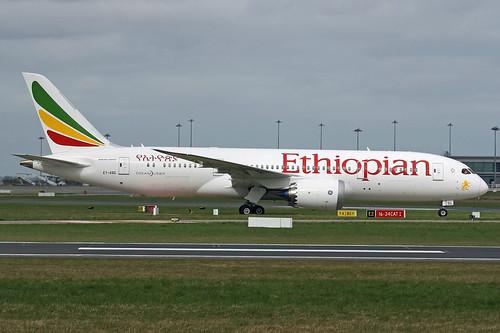 Ethiopian Airlines Boeing 787-8 Dreamliner, ET-ASG.