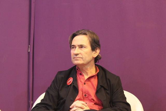 Benoît Peeters - Salon du livre de Paris 2015
