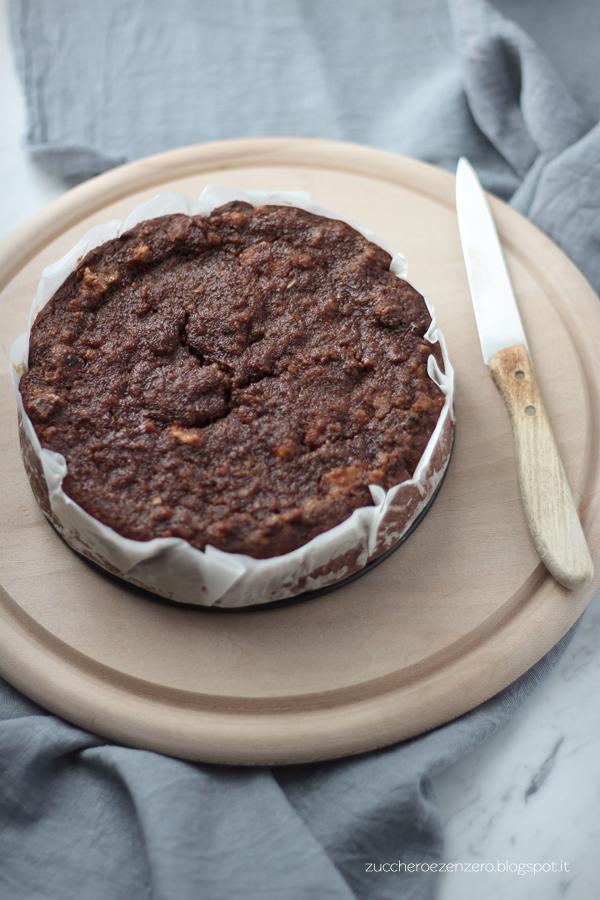 Torta di pane al cacao e noci