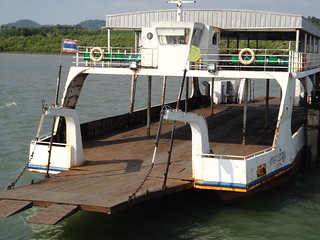 The ferry boats to Koh Chang were pretty rusty