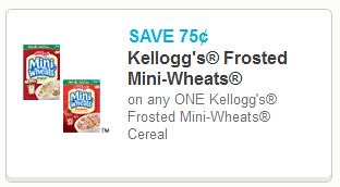 Frosted Mini Wheats Coupon