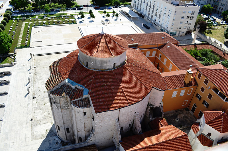 St Donatus Church, old town, Zadar, Croatia