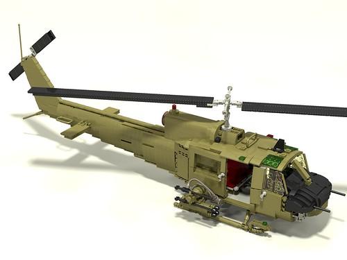 """Bell UH-1 Iroquios """"Huey"""" - Special LEGO Themes - Eurobricks Forums"""