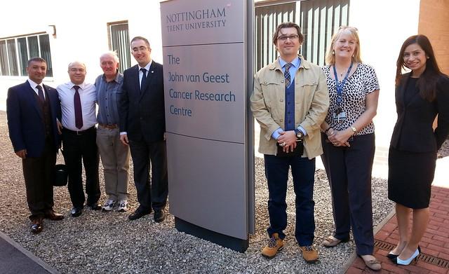 Üsküdar Üniversitesi İşbirliği için Nottingham Trent Üniversitesi'ni gezdi