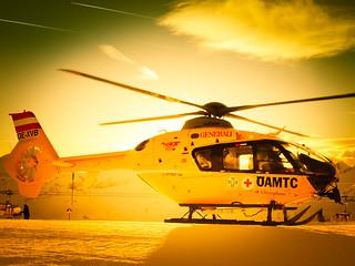 Robert Emmerich - 88 A Helicopter at the Glacier in the Alps - Möllertalgletscher in Kärnten - Austria