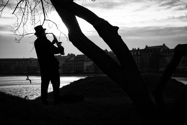 The Sunset Saxophonist